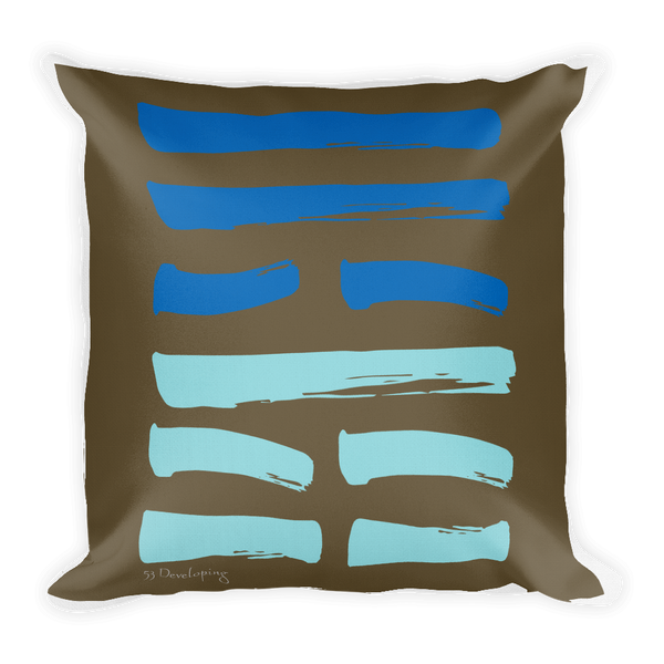 53 Developing Hexagram Throw Pillow