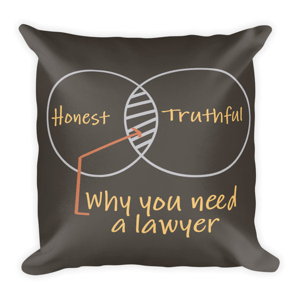 Sober as a Judge Premium Pillow