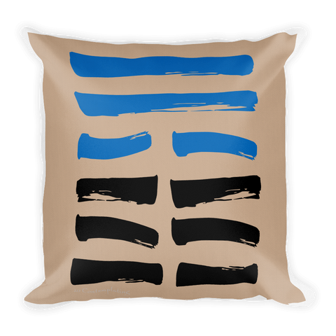 20 Contemplating Hexagram Throw Pillow
