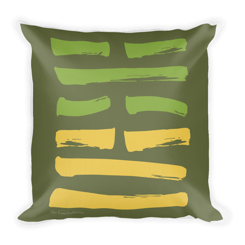 60 Limitations Hexagram Throw Pillow
