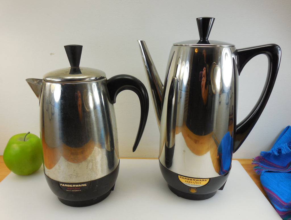 Two Different Spouts - Farberware Superfast Coffee Percolators