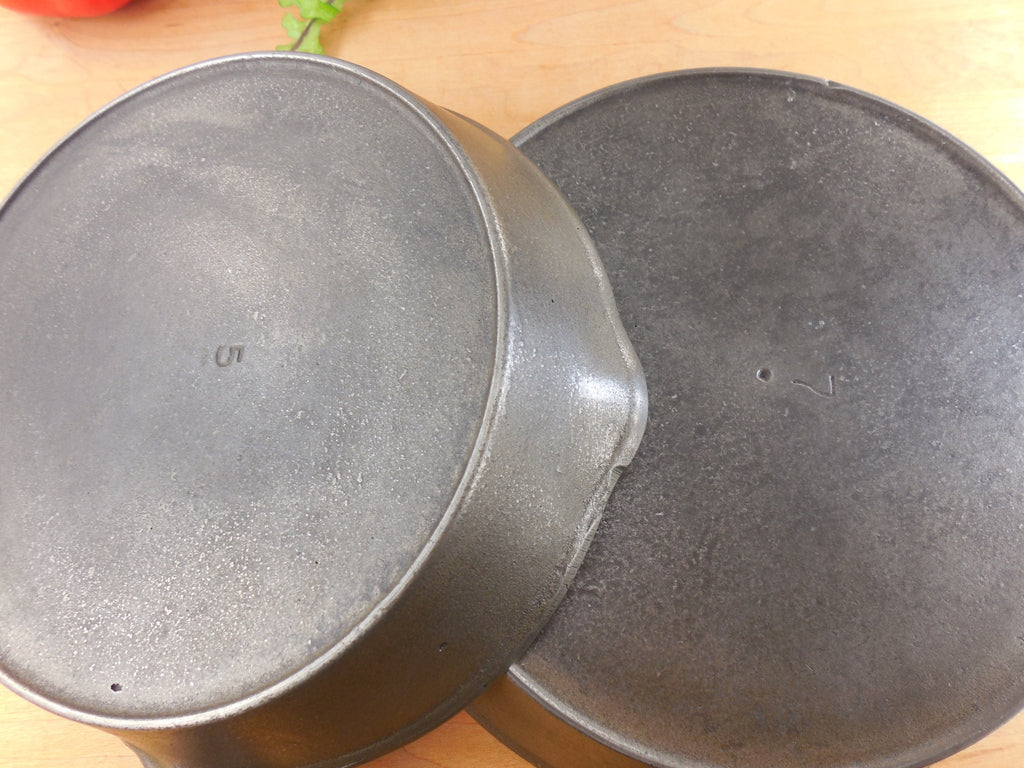 How To Recognize Unmarked Vollrath Cast Iron Vintage Skillets