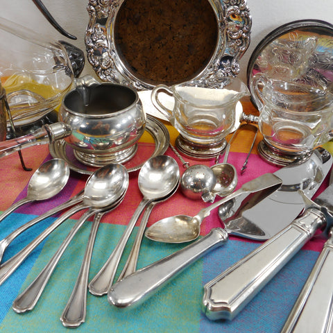 Silver Silverplate Pewter - Antique & Vintage