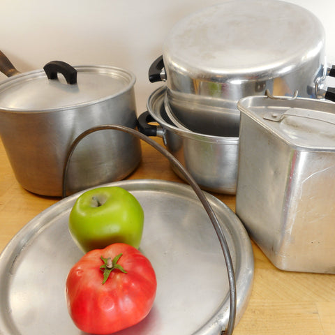 Cookware - Wear Ever Aluminum & Parts - Vintage