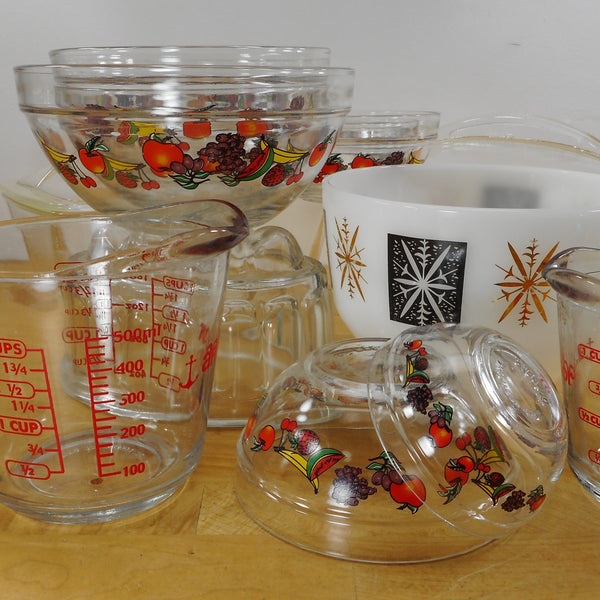 Glass Kitchenware - Vintage & Antique