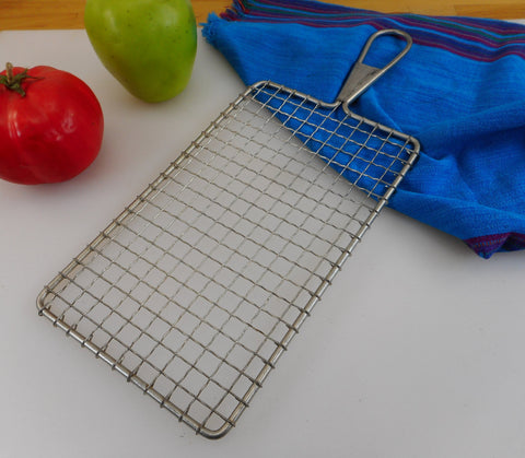 ACME USA Steel Wire Mesh Shredder Safety Grater - Vintage Kitchen Tool Utensil