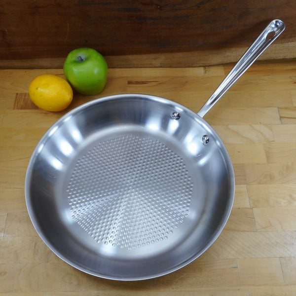 "All-Clad 12"" Stainless Armor Fry Pan Skillet"