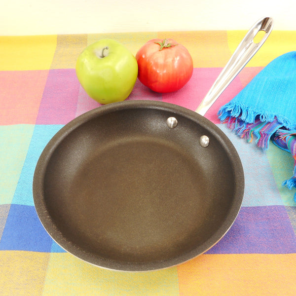 "All-Clad USA 8"" Tr-Ply Stainless Fry Pan Skillet - Non-stick Interior"