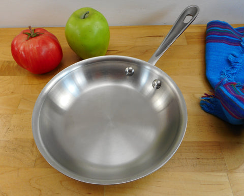 "All-Clad LTD Stainless Cookware 7.5"" Skillet Fry Pan - Used Worn Finish"