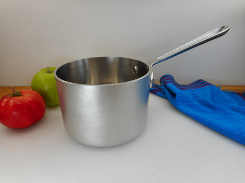 All-Clad MetalCrafters Master Chef Vintage 2 Quart Sauce Pan - No Lid Used