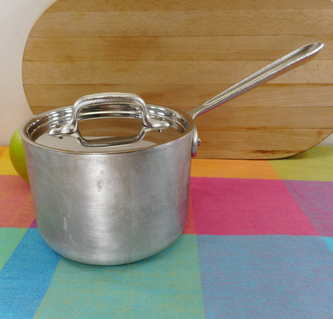 All-Clad Metal Crafters Master Chef 2 Quart Saucepan 202