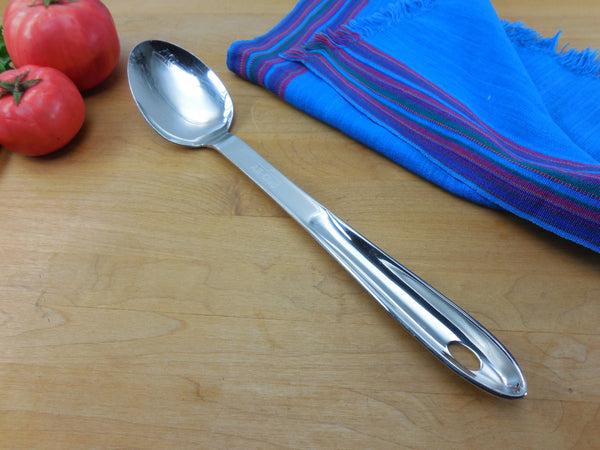 All-Clad Large Solid Spoon - Stainless Steel Kitchen Utensil