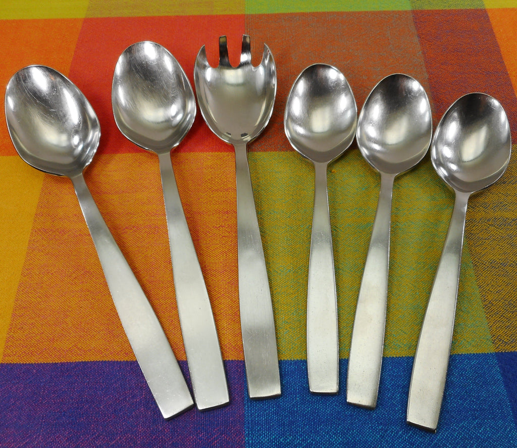 Amboss Austria MODERN Neuzeughammer Super Rostfrei Large Serving Place Spoons Salad Fork