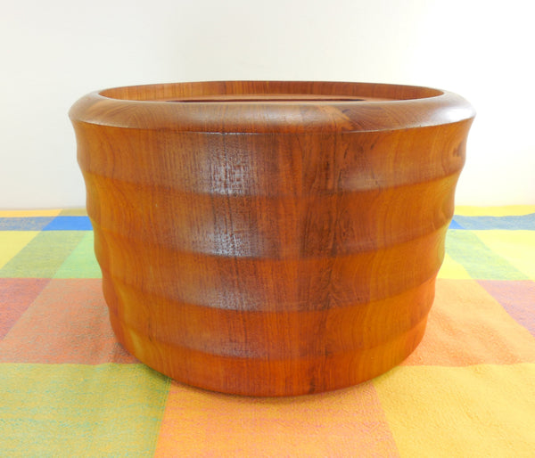 Scan Look by A.Q. - Mid Century Staved Teak Ice Bucket
