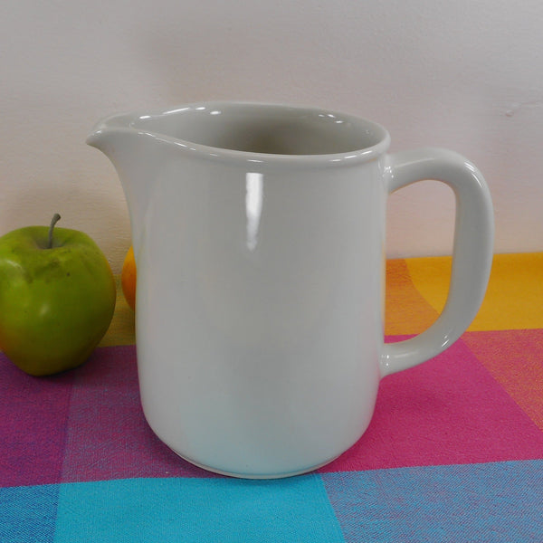 Arabia Finland Arctica White Ceramic Pitcher 6.25""