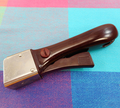 Arcoflam Cookware France Used Replacement Handle Part Maroon