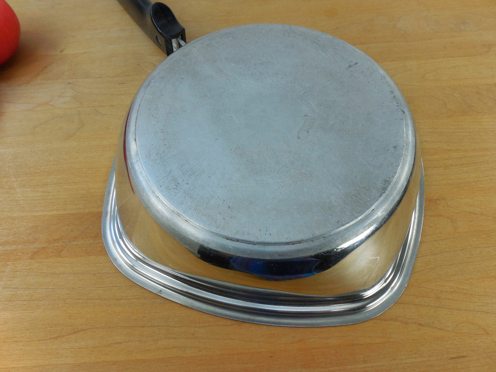 Aristo Craft 9 Quot Square Skillet 18 8 Stainless Steel 4