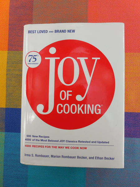 Cookbook - Joy of Cooking 75th Anniversary - Rombauer