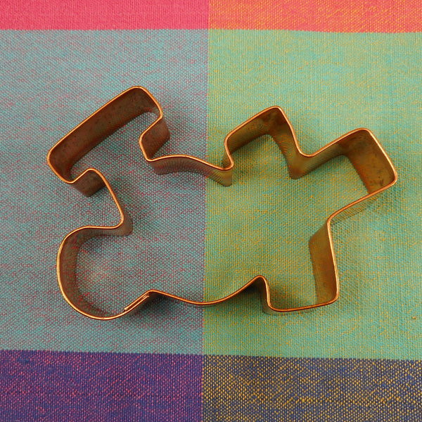 Brahman USA Copper Cookie Cutter - Joy Letters