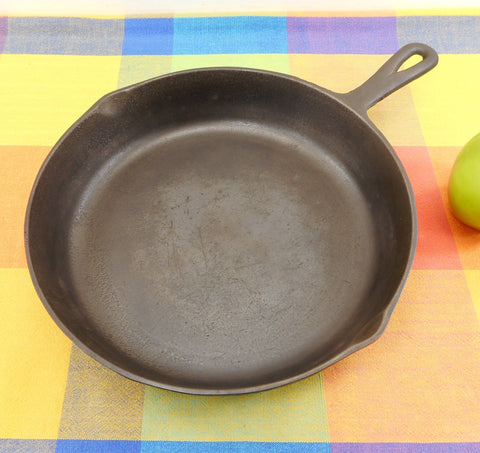 BSR Birmingham Stove and Range #8 Cast Iron Skillet Fry Pan Camping - Restored