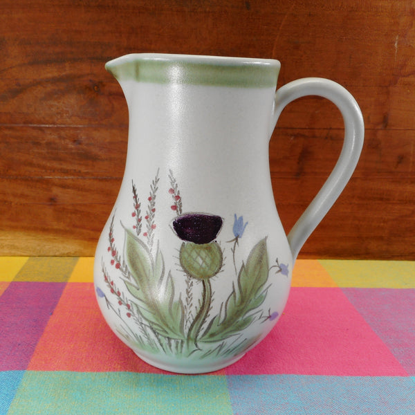 Buchan Stoneware Scotland Thistle Ware - 125/37 Pitcher 48 Oz.