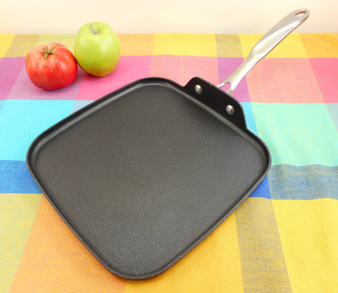 "Calphalon Non-Stick Anodized 11"" Square Griddle Pan Model 1210"
