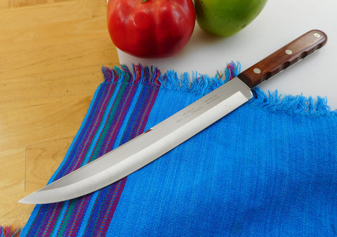 "Case XX USA Kitchen Stainless Slicing Carving Knife... CAP 283-8"" Wood Handle"