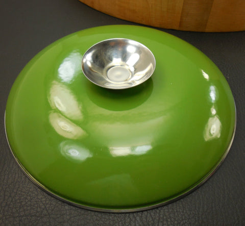 "Cathrineholm Norway Avocado Green - 8"" Replacement Cookware Lid Only"