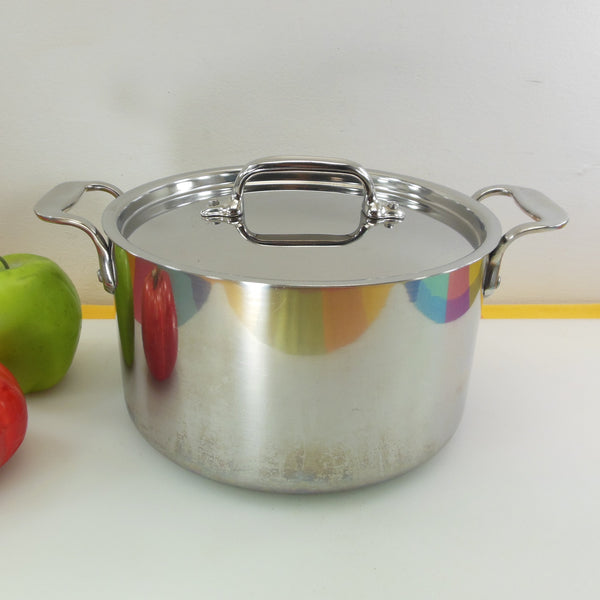 All-Clad Metacrafters USA 4 Quart Soup Pot 3-ply Stainless Steel