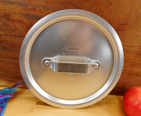 Commercial Cookware Toledo USA (Calphalon) - Replacement NSF Lid 306 Silver Anodized 7.75""