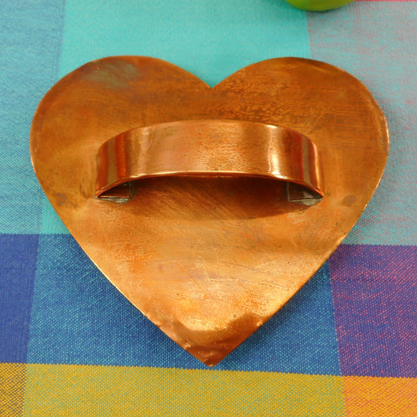 "Cape Cod Copper Works Cookie Cutter 4-3/4"" Heart"