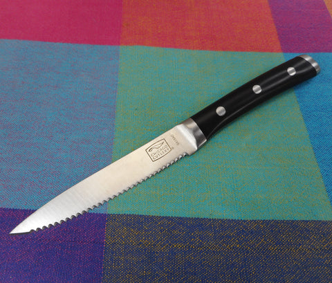 "Chicago Cutlery Series 9A16AC Kitchen Knives - 4"" Serrated Stainless Blade Black Handle"