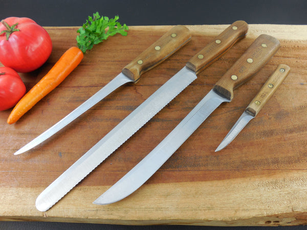 Vintage Chicago Cutlery 4 Kitchen Knife Set