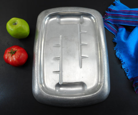Club Aluminum USA Hammercraft Meat Serving Carving Tray Platter