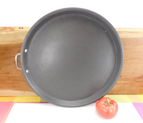 "Commercial Cookware Toledo OH USA - (Calphalon) Anodized Aluminum 14"" Pizza Pan P14"