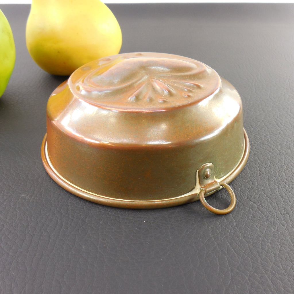 Unbranded Copper Tin Food Mold Baking Pan Heart