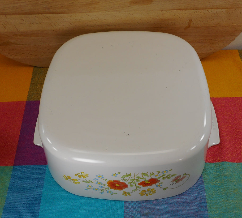 Corning Ware WILDFLOWER 5 Quart Lidded Casserole Dutch Oven A-5-B Used