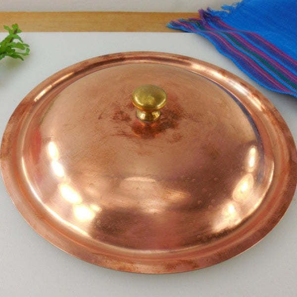 "Spring Culinox Switzerland Copper Replacement 8"" Lid"