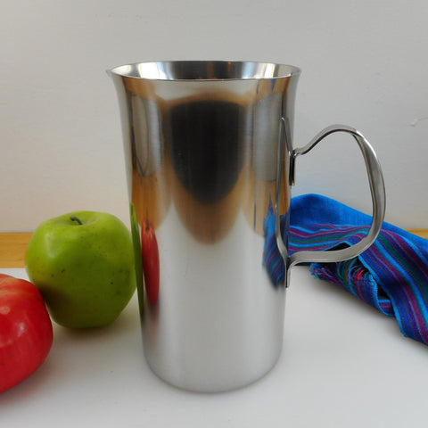 Cultura Sweden Vintage MCM 18-8 Stainless Pitcher
