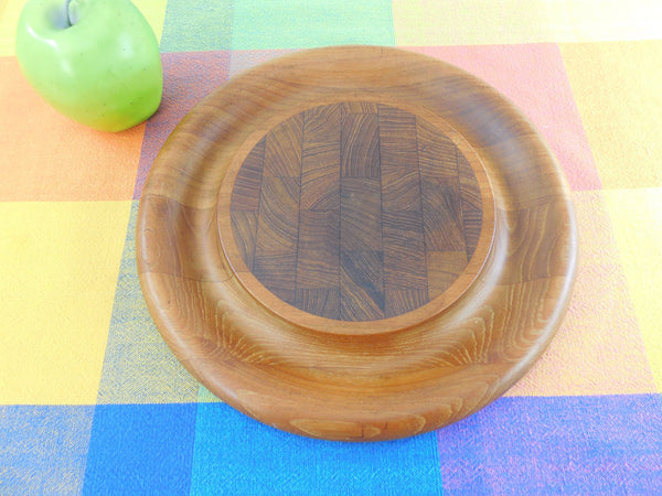 Dansk Denmark Vintage Teak End Grain Cutting Cheese Serving Board
