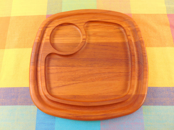 Vintage Dansk International Teak Tray Platter
