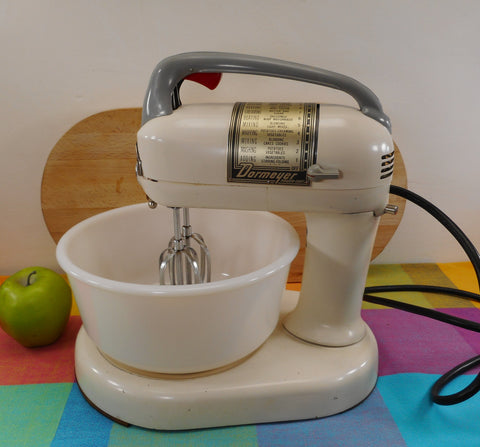 Dormeyer Chicago USA Vintage Stand Mixer Food Fixer 4200 Power Chef