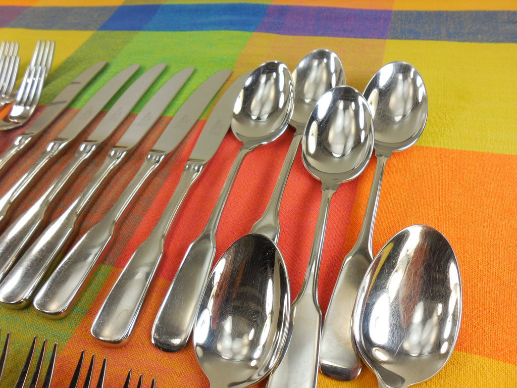Drache Rocroni Flatware - Solingen Germany Rostfrei Stainless... 27 Pieces Knives Forks Spoons - view 3