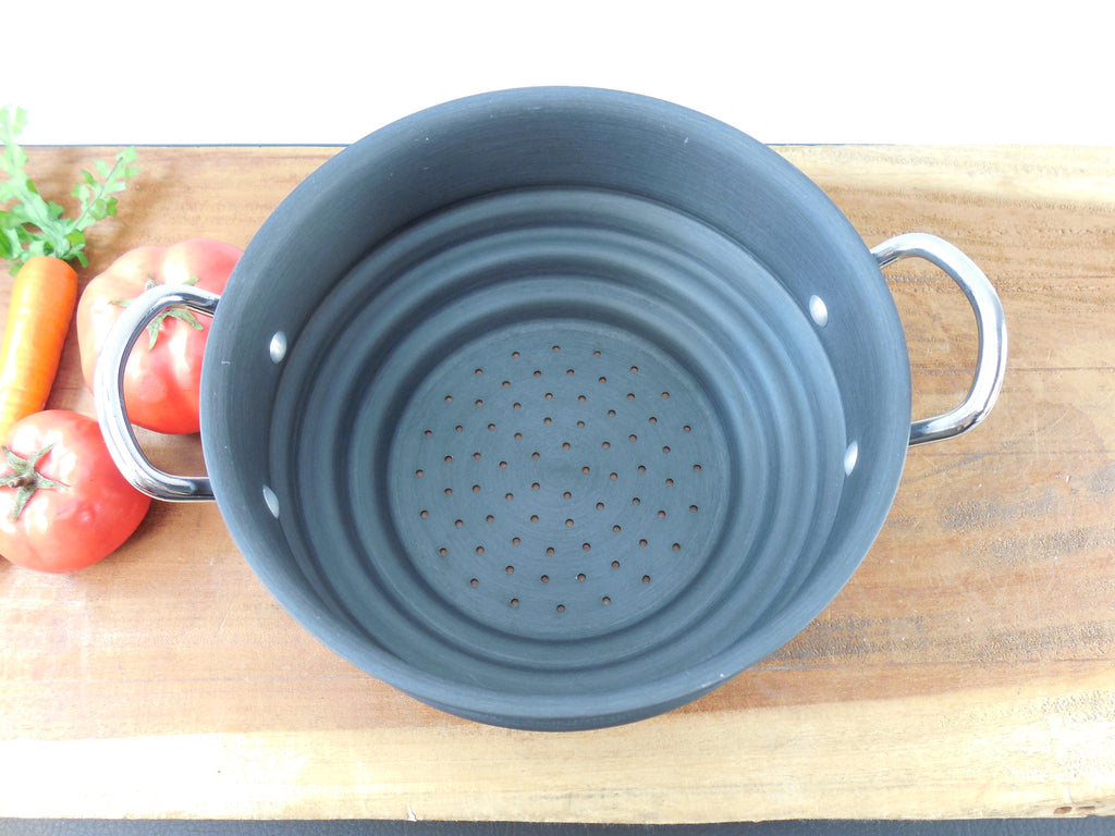 Commercial Cookware Calphalon Anodized Aluminum Steamer