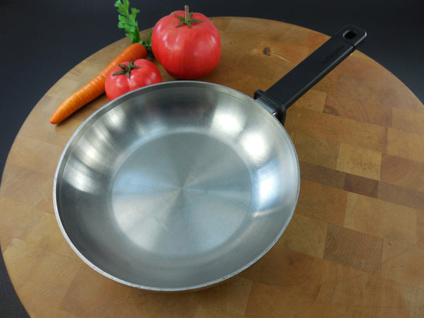 "SOLD... Wear Ever Cookware USA - Stainless Steel with Aluminum Core - 8"" Fry Pan Skillet Omelet"