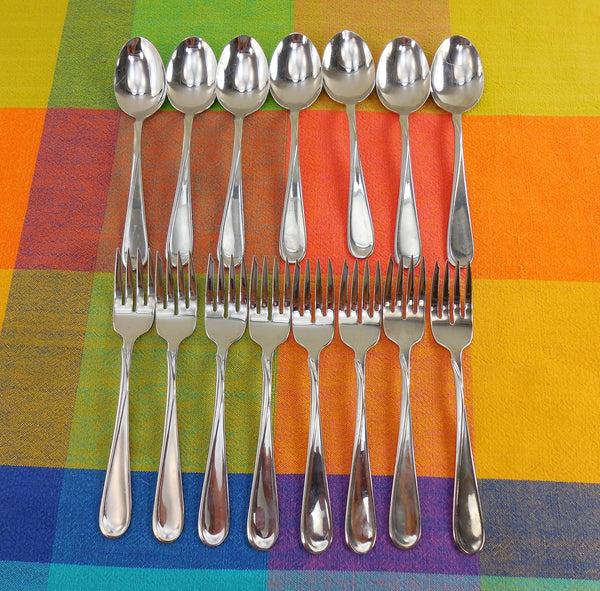 Vintage Oneida USA Stainless Flatware - FLIGHT or RELIANCE Glossy