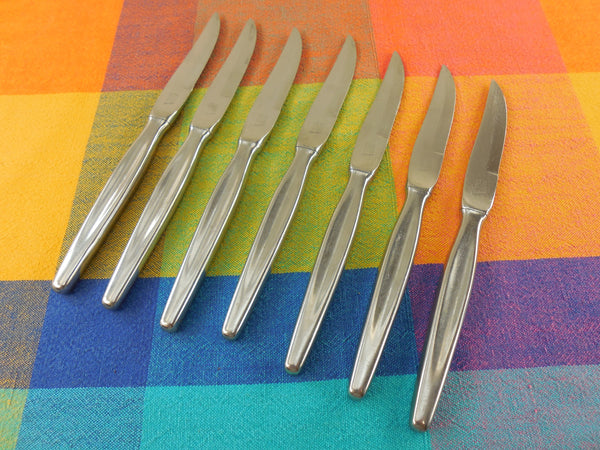 Vintage CS Solingen Germany Stainless Steak Knives