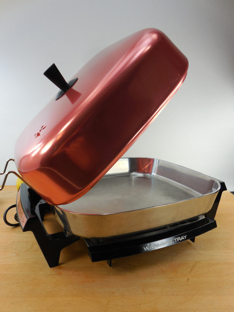 Sold Hoover 1970s Electric Fry Pan Skillet Model 8661