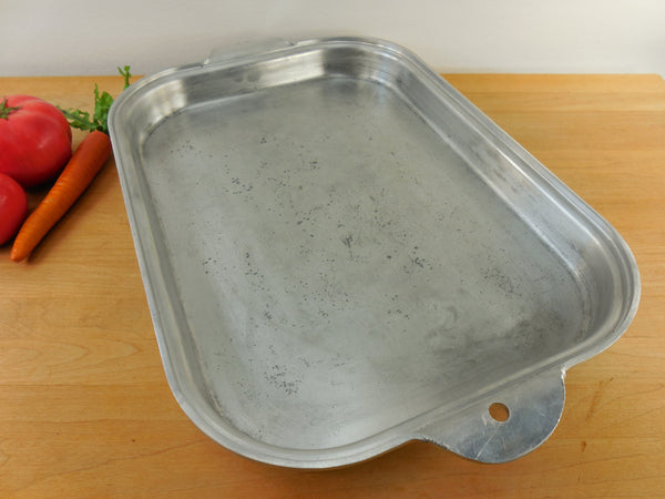 Vintage Open Roaster Roasting Pan - Wear Ever 918