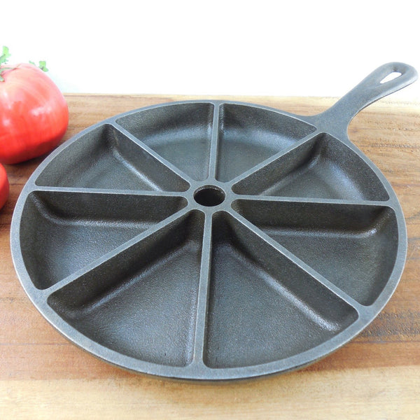 Vintage Lodge Cast Iron Cornbread Skillet